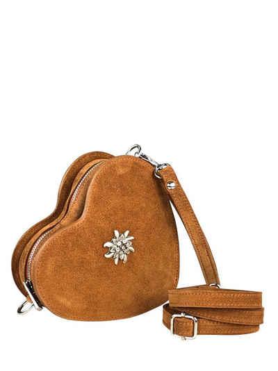 Allgäu Rebell Umhängetasche »Stachus«, mit abnehmbarer Handtaschlaufe