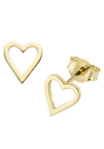 Firetti Paar Ohrstecker »durchbrochene Herzen«