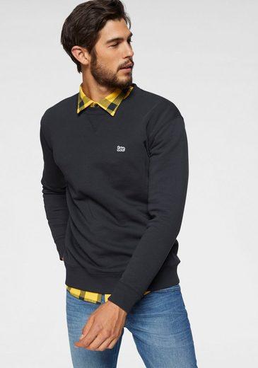 Lee® Sweatshirt mit Logostickerei