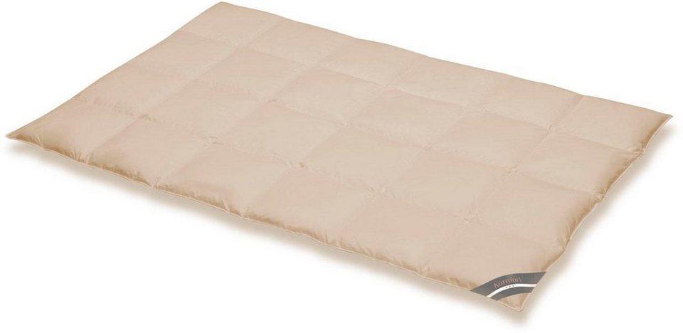 Daunenbettdecke Komfort Spessarttraum Warm Fullung 60 Daunen 40 Federn Bezug 100 Baumwolle 1 Tlg Online Kaufen Otto