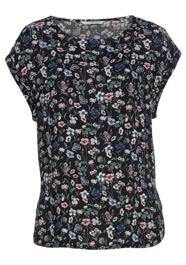 TOM TAILOR Denim Shirtbluse mit allov er Blumenprint oder gestreift