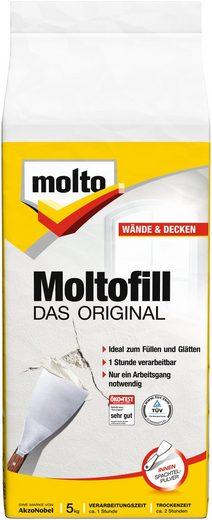 MOLTO Spachtelpulver »Moltofill Innen«, weiß, 5 kg