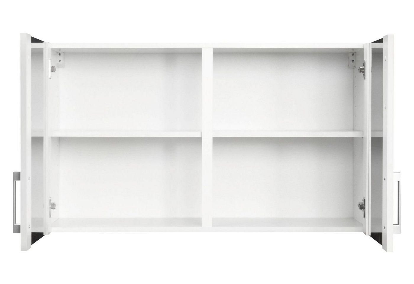 OPTIFIT Küchenhängeschrank »Helsinki«, Breite 100 cm | Küche und Esszimmer > Küchenschränke > Küchen-Hängeschränke | Weiß | OPTIFIT