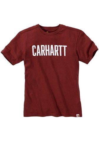 CARHARTT Футболка »BLOCK«