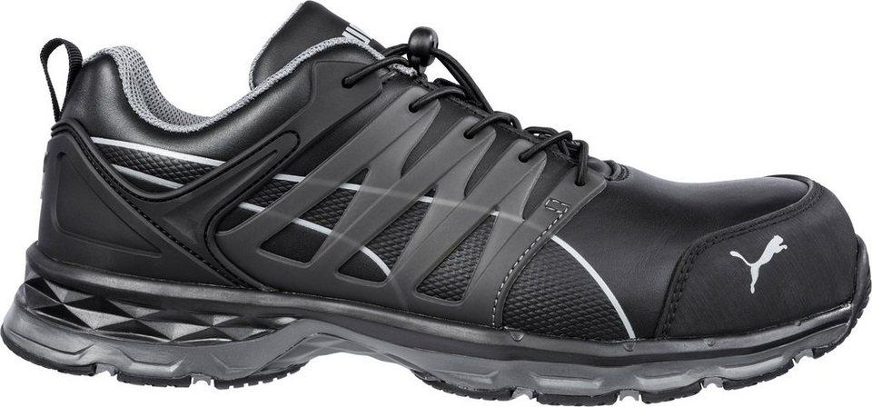 sports shoes ab553 0fbb3 PUMA Sicherheitsschuh »VELOCITY 2.0 BLACK LOW S3 ESD HRO SRC« online kaufen    OTTO