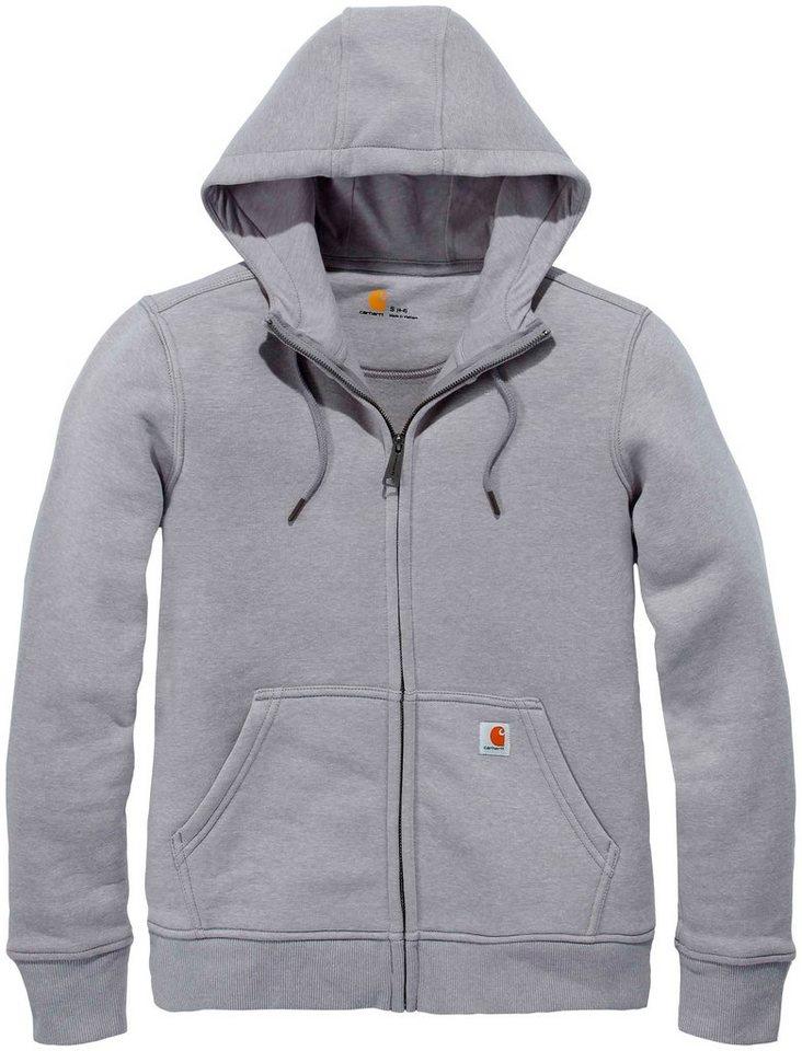 online zum Verkauf professioneller Verkauf der Verkauf von Schuhen CARHARTT Sweatshirt »Clarksburg Full Zip Hoodie«, Damen-Hoodie mit  Frontreissverschluß online kaufen | OTTO
