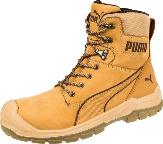 PUMA Sicherheitsstiefel »Conquest Wheat High S3 HRO SRC«