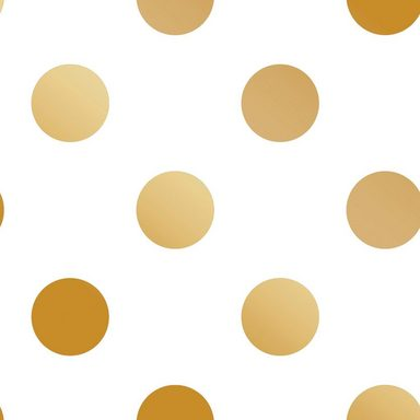 Vliestapete »Dotty Gold«