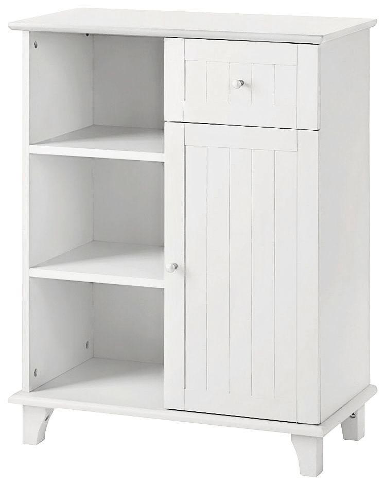 KONIFERA Unterschrank »Venezia Landhaus«, Breite 63 cm | Küche und Esszimmer > Küchenschränke > Küchen-Unterschränke | Weiß | Kiefernholz | KONIFERA