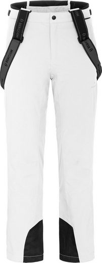 Bergson Skihose »FLEX light« Herren Skihose, unwattiert, 20000mm Wassersäule, Kurzgrößen, weiß
