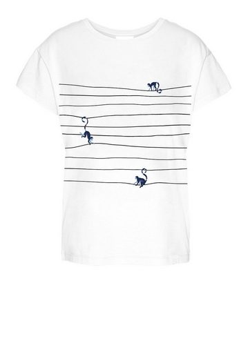 Armedangels T-Shirt »NELAA MONKEYS ON THE WIRE« Fairtrade, GOTS, organic, CERES-08