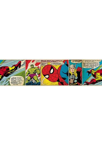 MARVEL sieninių tapetų juosta »Marvel ...