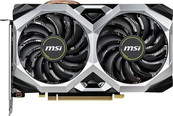 MSI GeForce RTX 2060 VENTUS XS 6G OC »Single GPU Grafikkarte«