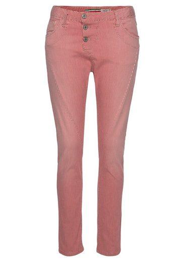 Please Jeans Boyfriend-Hose »P78A« in Streifenoptik