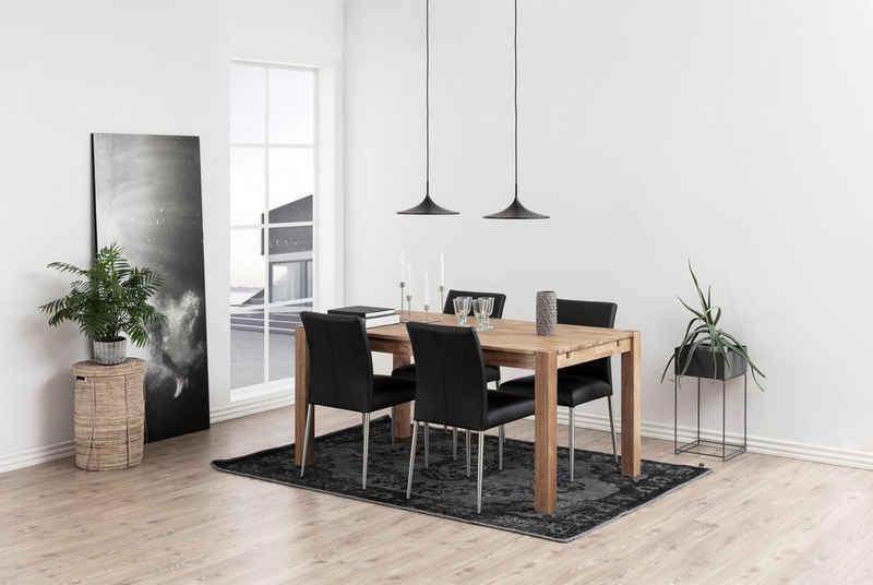 andas Esszimmerstuhl »Sina« (Set, 2 Stück), aus schönem, pflegeleichten Naturleder, Sitzhöhe 48,5 cm