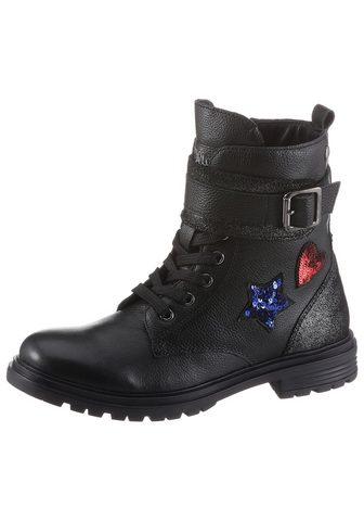 S.OLIVER Suvarstomi ilgaauliai batai
