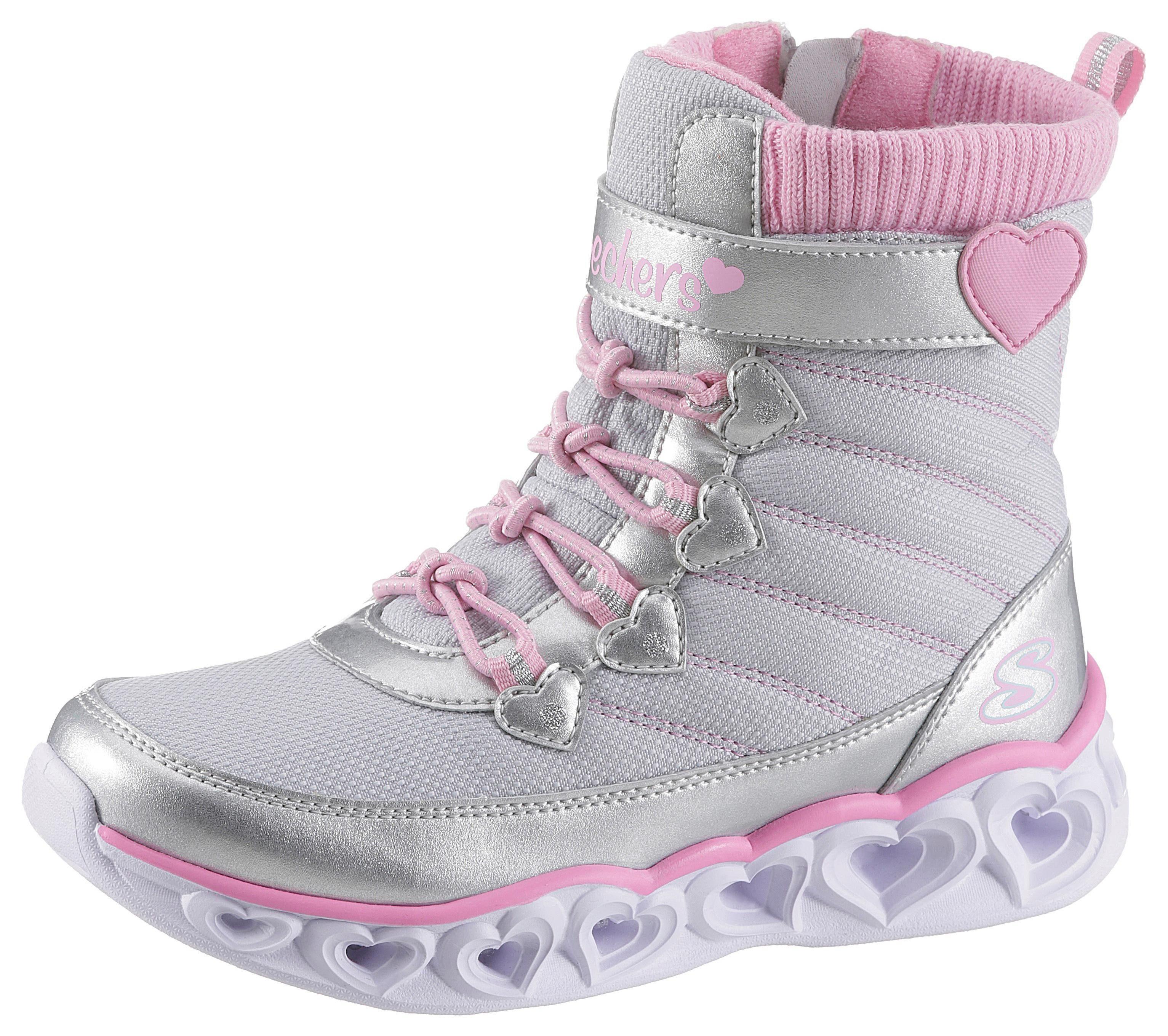 Skechers Kids »Heart Lights« Sneaker mit Herzchen Blinkfunktion online kaufen | OTTO