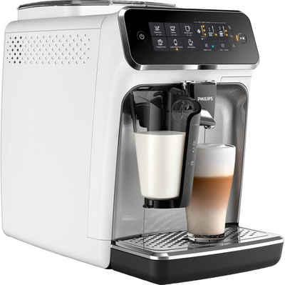 Philips Kaffeevollautomat 3200 Serie EP3243/70 LatteGo, weiß