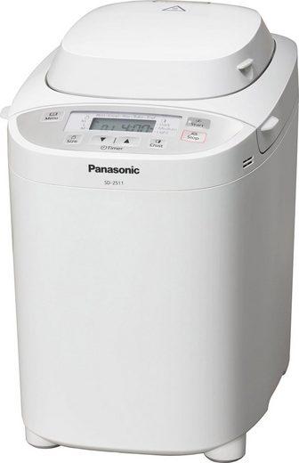 Panasonic Brotbackautomat SD-2511WXE, 30 Programme, 550 W