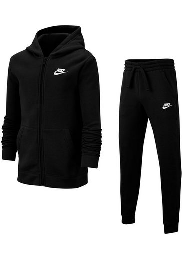 nike sportswear jogginganzug boys tracksuit core fleece. Black Bedroom Furniture Sets. Home Design Ideas