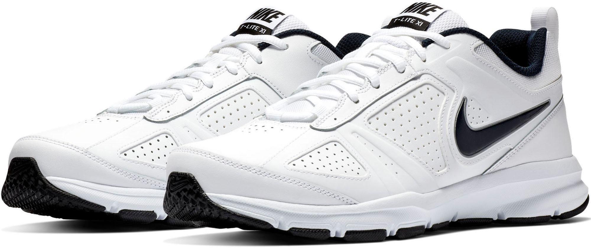 Nike »T Lite XI« Walkingschuh, Strapazierfähiges Obermaterial aus Leder und Synthetik online kaufen | OTTO