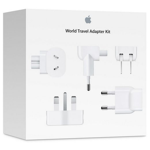 Apple Apple World Travel Adapter Kit, 7 Netzteilstecker »Das Reise-Adapter-Kit«