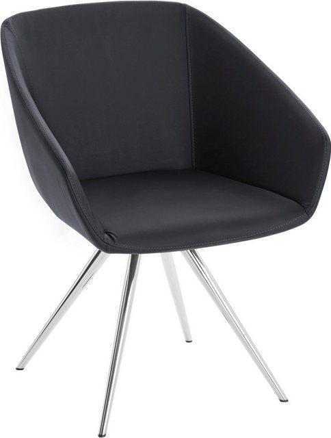 Stühle und Bänke - andas Stuhl »Madison« mit Metallbein in klarem, zeitlosen Design  - Onlineshop OTTO