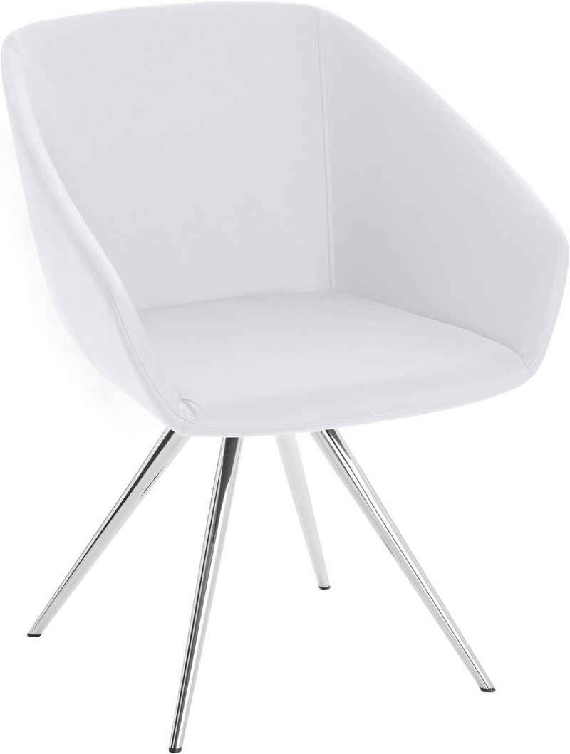 andas Stuhl »Madison«, mit Metallbein in klarem, zeitlosen Design