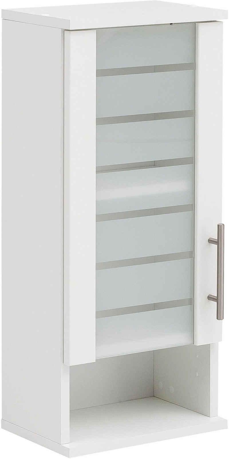Schildmeyer Hängeschrank »Nikosia« Breite 30 cm, mit Glastür, hochwertige MDF-Fronten, Metallgriff