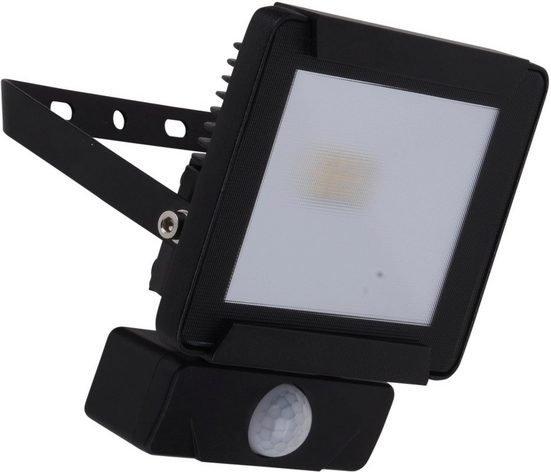 näve LED Außen-Wandleuchte »STRAHLER«, inkl. Bewegungssensor
