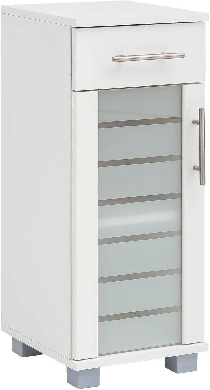 Schildmeyer Unterschrank »Nikosia« Breite 30 cm, mit Glastür, 1 Schublade, hochwertige MDF-Fronten, Metallgriffe