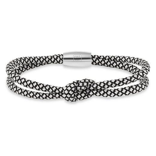 CAÏ Armband »Paracord-Nylonband Edelstahlschließe 23cm«
