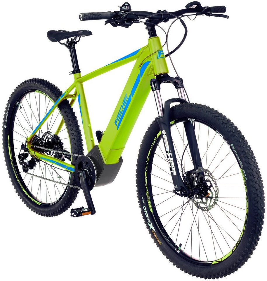 fischer fahrraeder e bike mountainbike montis 6 0 i 27 5 zoll 10 gang mittelmotor 504 wh. Black Bedroom Furniture Sets. Home Design Ideas
