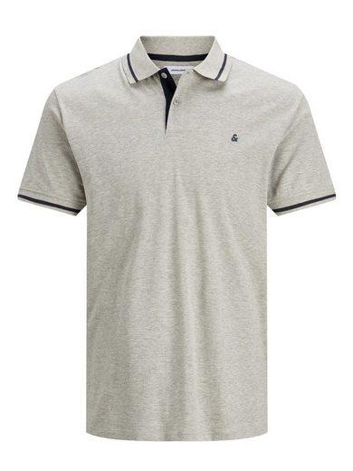 Jack & Jones Poloshirt »3614« Herren Polo Shirt Kurz Arm Uni Hemd JJEJERSEY Jersey Baumwolle