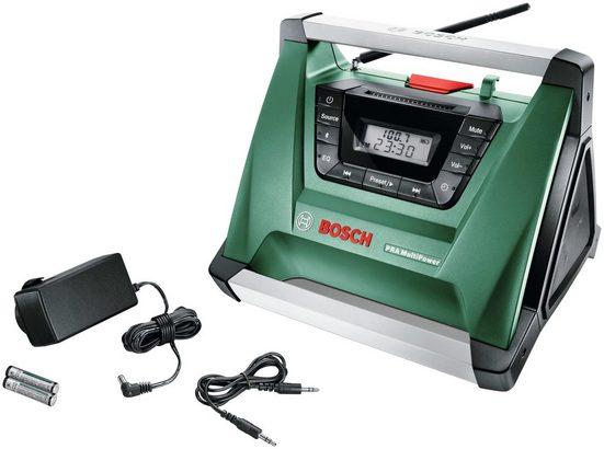 BOSCH Baustellenradio »PRA Multipower«, 10,8 - 18 V