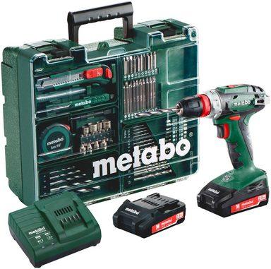METABO Set: Akkubohrschrauber »BS 18 Quick« inkl. »mobiler Werkstatt«