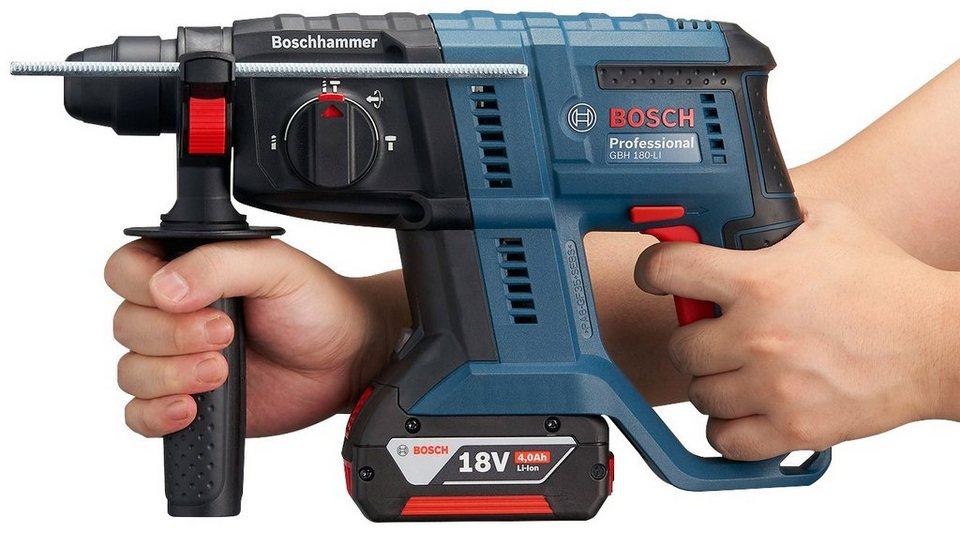 Extrem BOSCH PROFESSIONAL Akku-Bohrhammer »GBH 18V-20«, mit 2. Akku 18V OT11