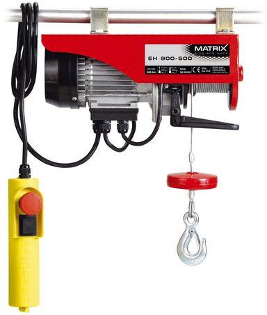 MATRIX Elektrischer Seilzug »EH 900-500-1«, für Lasten bis 500 kg
