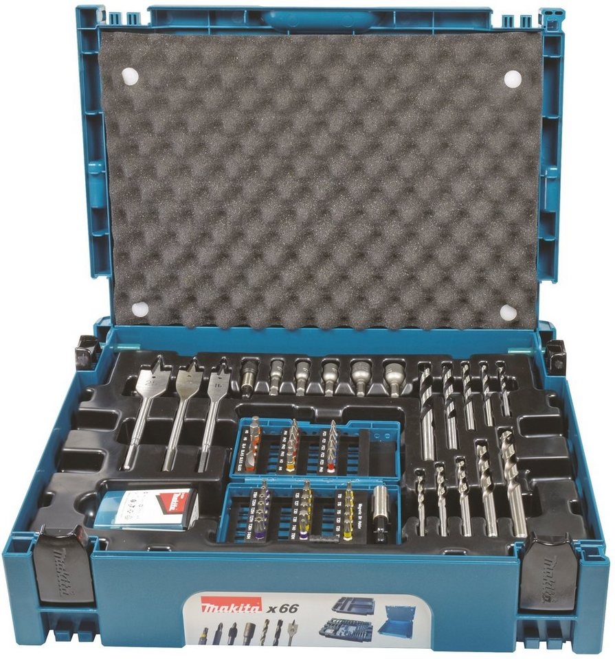 MAKITA Bohrer-Bit-Set »B-43044 «, (66-tlg.) | Baumarkt > Werkzeug > Werkzeug-Sets | Blau | Makita