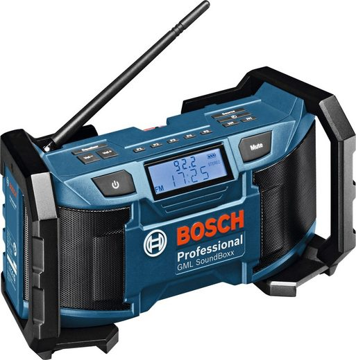 BOSCH PROFESSIONAL Baustellenradio »GML SoundBoxx Professional«, kompatibel mit 14,4 und 18 Volt Akkus