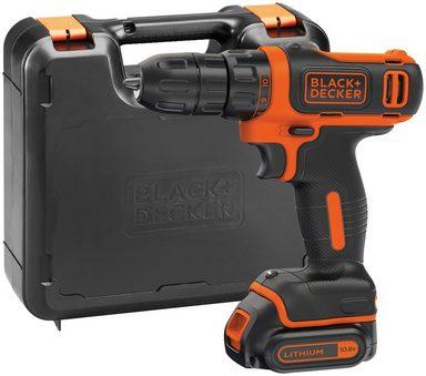 BLACK + DECKER Akku-Bohrschrauber »BDCDD12K«, 1,5 Ah, 10,8 V, inkl.Akku und Ladegerät