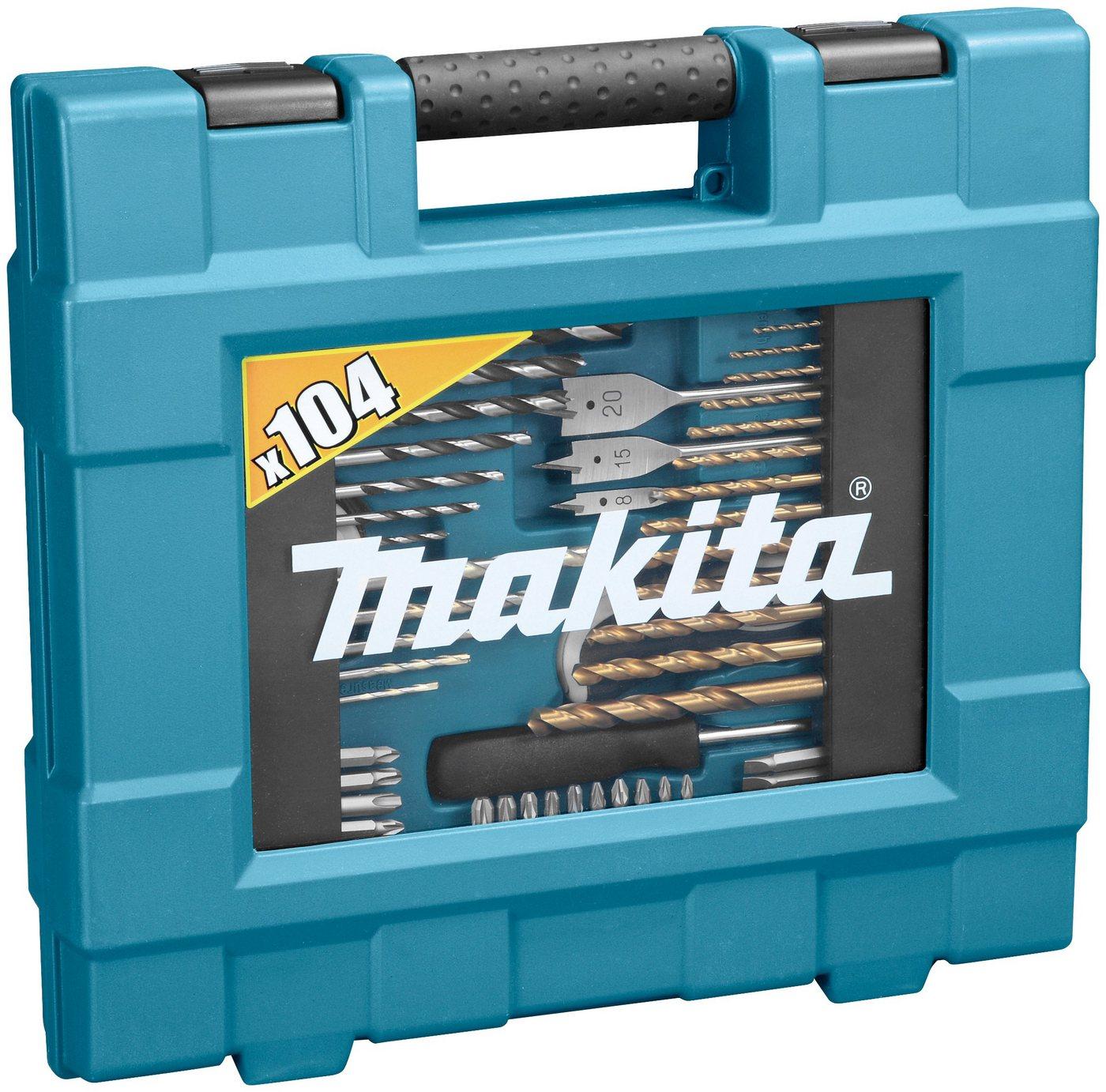 MAKITA Bohrer-Bit-Set »D-31778«, (104-tlg.)   Baumarkt > Werkzeug > Werkzeug-Sets   Blau   Makita