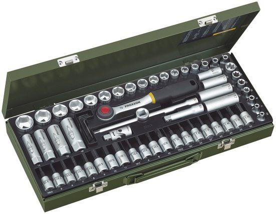 """PROXXON Steckschlüsselsatz »Super-Kompaktsatz 3/8""""«, (65-tlg.)"""