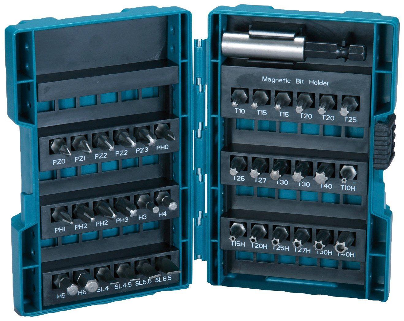 MAKITA Bit-Set »B-28606«, (37-tlg.) | Baumarkt > Werkzeug > Werkzeug-Sets | Blau | Makita
