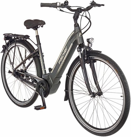 FISCHER FAHRRAEDER E-Bike City »CITA 5.0 i«, 28 Zoll, 7 Gang, Mittelmotor, 418 Wh
