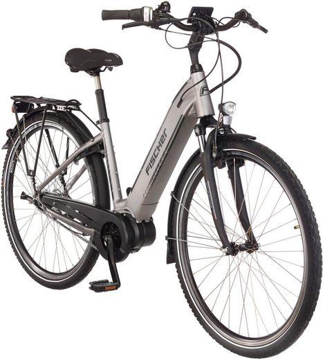 FISCHER FAHRRAEDER E-Bike City »CITA 4.0 i«, 7 Gang, Mittelmotor, 418 Wh