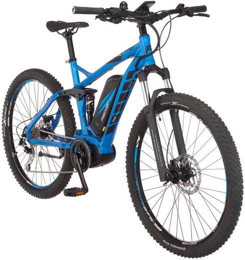 FISCHER FAHRRAEDER E-Bike Mountainbike »EM1862«, 27,5 Zoll, 9 Gänge, Mittelmotor, 557 Wh