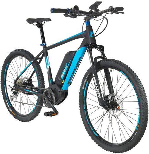 FISCHER FAHRRAEDER E-Bike Mountainbike »EM1864«, 70 cm (27,5) Zoll, 9 Gänge, 557 Wh, BAFANG MaxDrive
