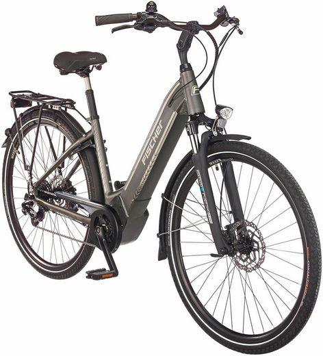 FISCHER FAHRRAEDER E-Bike City »CITA 6.0 i«, 28 Zoll, 10 Gang, Mittelmotor, 504 Wh
