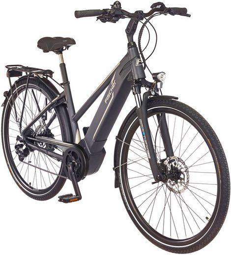 FISCHER FAHRRAEDER E-Bike Trekking Damen »VIATOR 5.0 i«, 28 Zoll, 10 Gang, Mittelmotor, 418 Wh